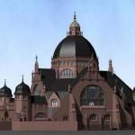 Alte Synagoge Dortmund. Rekonstruktion.